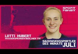 Lotti Hubert – Nachwuchssportler des Monats Juli 2019