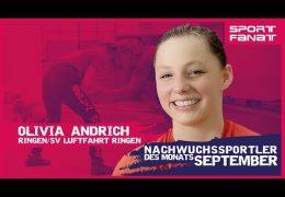 Olivia Andrich – Nachwuchssportler des Monats September 2019