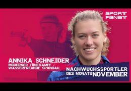 Annika Schneider – Nachwuchssportler des Monats November 2019