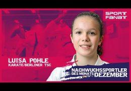 Luisa Pohle – Nachwuchssportler des Monats Dezember 2019