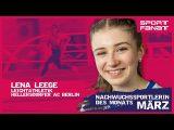 Lena Leege – Nachwuchssportlerin des Monats März 2020