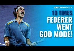 Roger Federer im Gott-Modus