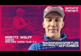 Moritz Wolff – Nachwuchssportler des Monats September