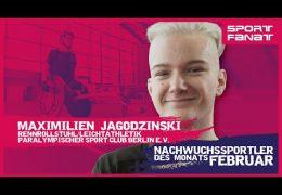 Maximilian Jagodszinski – Nachwuchssportler des Monats Februar 2021