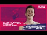 Gavin Claypool  – Nachwuchssportler des Monats April 2021