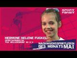 Hermine Fuckel – Nachwuchssportlerin des Monats Mai 2021