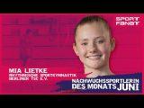 Mia Lietke – Nachwuchssportlerin des Monats Juni 2021