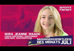 Mira Jeanne Maack  – Nachwuchssportlerin des Monats Juli 2021