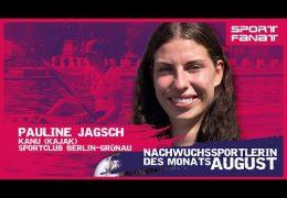 Pauline Jagsch  – Nachwuchssportlerin des Monats August 2021