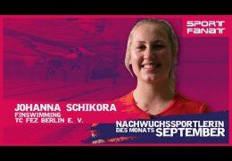 Johanna Schikora – Nachwuchssportlerin des Monats September 2021
