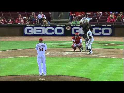 Highspeed Pitch beim Baseball