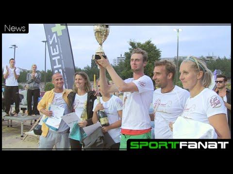 Caroline Eggert und René Stadie erster Deutscher Meister im Mixed Beach-Volleyball