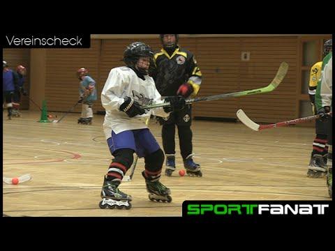 Inline-Skaterhockey bei den Berlin Buffalos