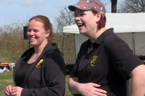 Highland Games sind nicht nur etwas für Männer - auch Frauen nehmen aktiv am Wettkampfgeschehen teil, auch bei den Oranje Games in Oranienburg